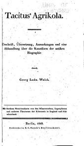 Tacitus' Agrikola
