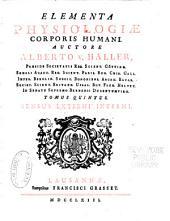 Elementa physiologiae corporis humani: Sensus externi, interni