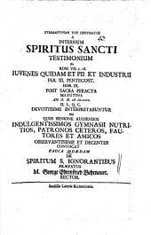 De Spiritum S. ignorantibus
