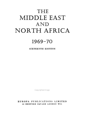 The Middle East and North Africa PDF