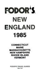 Fd New England 1985 PDF
