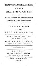 General Observations on the Advantage which may result from the Introduction of the Seeds of our best Grasses