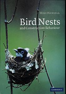 Bird Nests and Construction Behaviour Book