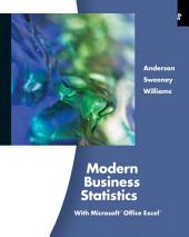 Modern Business Statistics with Microsoft Excel: Edition 4