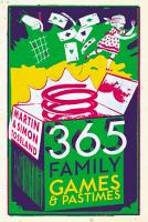 365 Family Games and Pastimes PDF