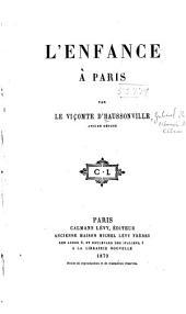 Enfance a Paris