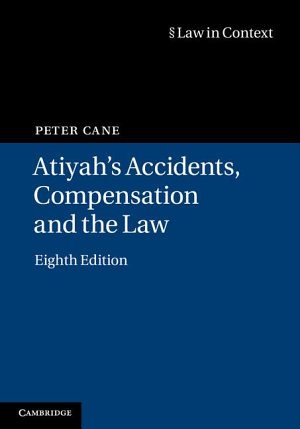 Atiyah s Accidents  Compensation and the Law PDF