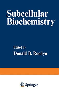 Subcellular Biochemistry PDF