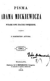 Pisma Adama Mickiewicza: Tom 2