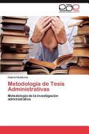 Metodolog  a de Tesis Administrativas