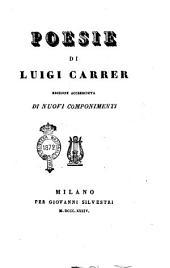 Poesie di Luigi Carrer