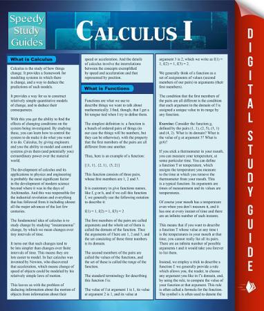 Calculus 1 PDF