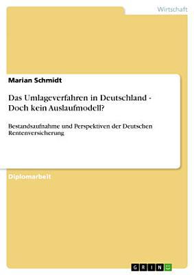 Das Umlageverfahren in Deutschland   Doch kein Auslaufmodell  PDF