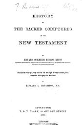 History of the Sacred Scriptures of the New Testament