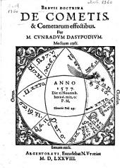 Brevis doctrina de cometis & cometarum effectibus, anno 1577, die XI novemb. hora 6 min. 0: Page 1000