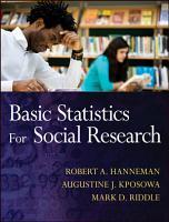 Basic Statistics for Social Research PDF