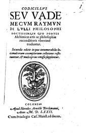 Liber qui Codicillus seu Vademecum inscribitur