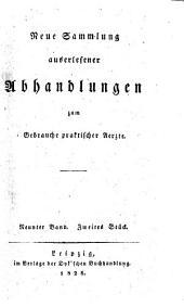 Sammlung auserlesener Abhandlungen zum Gebrauche praktischer Aerzte: Band 127