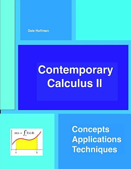 Contemporary Calculus II PDF