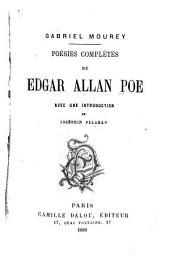 Poèmes complets d'Edgar Allan Poe