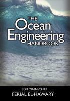 The Ocean Engineering Handbook PDF