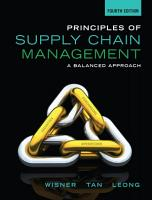 Principles of Supply Chain Management  A Balanced Approach PDF