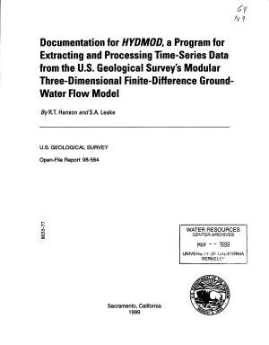 Documentation for HYDMOD