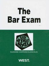 Darrow-Kleinhaus' The Bar Exam in a Nutshell, 2d: Edition 2