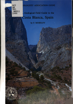 A Geological Field Guide to the Costa Blanca, Spain