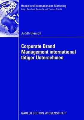 Corporate Brand Management international t  tiger Unternehmen PDF