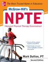 McGraw Hills NPTE National Physical Therapy Exam  Second Edition PDF