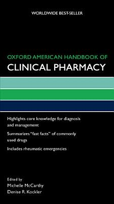 Oxford American Handbook of Clinical Pharmacy PDF