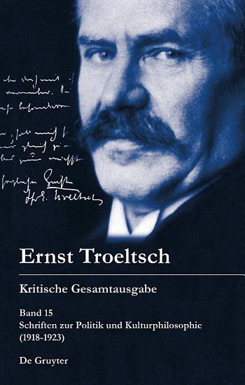 Schriften zur Politik und Kulturphilosophie  1918 1923  PDF