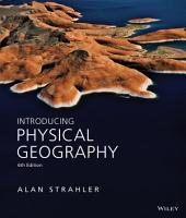 Introducing Physical Geography  6th Edition PDF