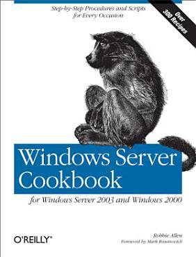 Windows Server Cookbook PDF