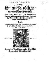 Cornucopiae d. i. stattliche ... Erweisung, daß Johann Delzer ... kein Kelch noch Becherdieb sey