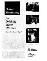 Online Monitoring for Drinking Water Utilities PDF