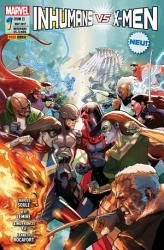 Inhumans vs  X Men 1 PDF