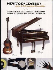 Heritage Odyssey Music Memorabilia Auction Catalog  612
