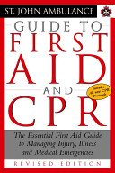 St  John Ambulance Guide to First Aid and CPR PDF