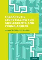 Therapeutic Storytelling for Adolescents and Young Adults PDF