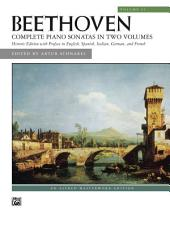 Sonatas, Volume 2: For Late Intermediate to Advanced Piano