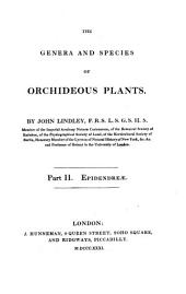 The genera and species of Orchideous Plants: Epilendreae, Volume 2