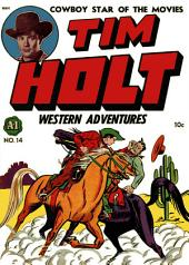 Tim Holt Western Adventures, Number 1, Satan's Stagecoach