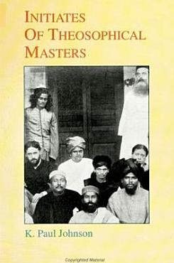 Initiates of Theosophical Masters PDF