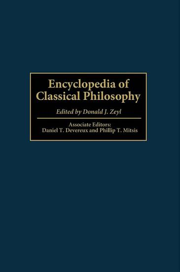 Encyclopedia of Classical Philosophy PDF