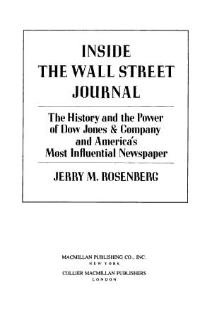 Inside the Wall Street Journal