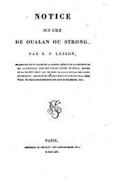 Notice sur l'ile de Oualan ou Strong