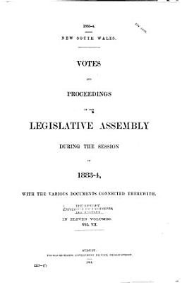 Votes and Proceedings of the Legislative Assembly PDF