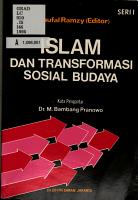 Islam dan transformasi sosial budaya PDF